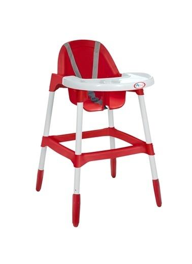 Aybaby Mama Sandalyesi Kırmızı